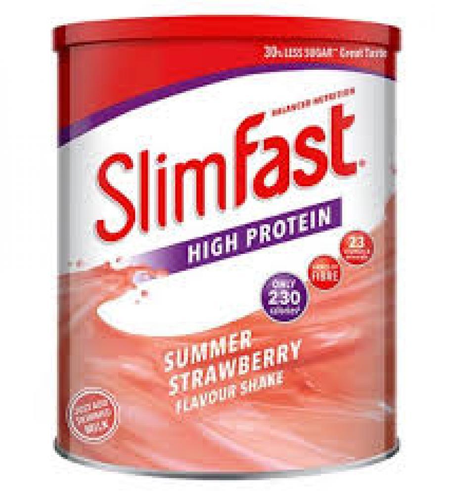 Slim fast Summer Strawberry Shake Powder 438g
