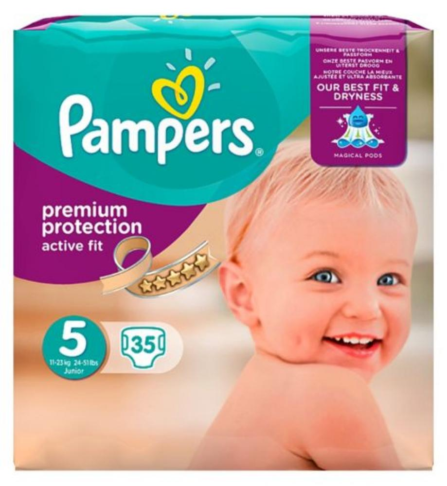 Pampers Premium Protection Size 5 Pack Of 34