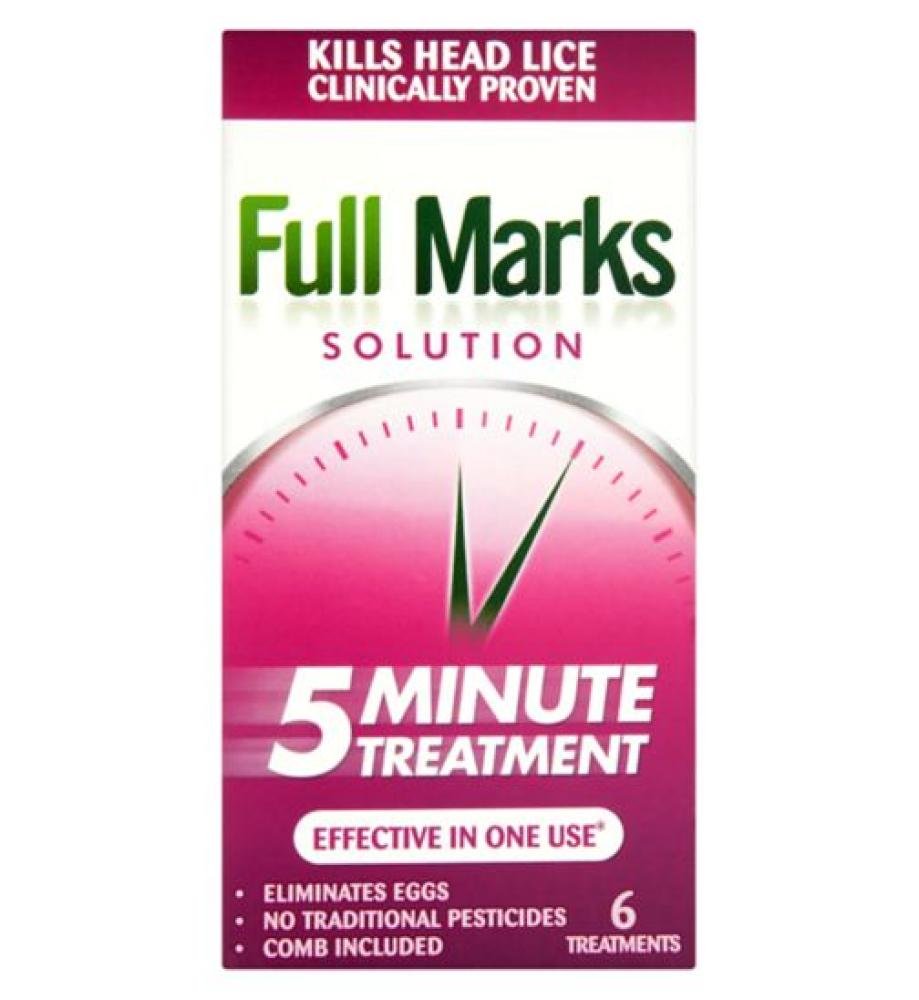 Full Marks Solution 5 Minute Treatment