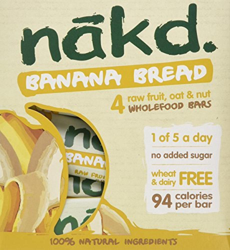 Nakd Banana Bread Multipack 4 x 30g