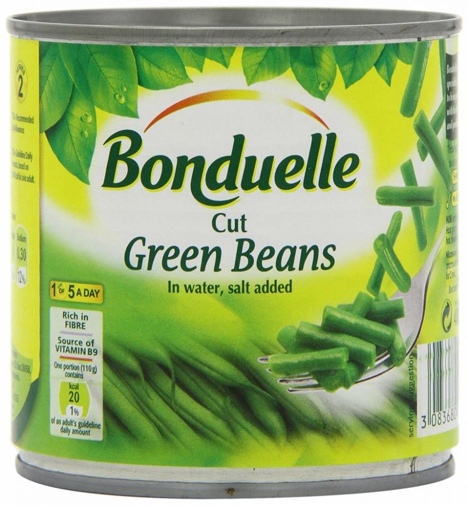 Bonduelle Cut Green Beans in Water 400g