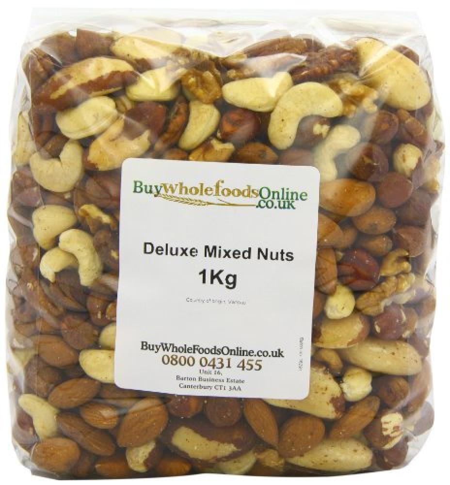 Buy Whole Foods Deluxe Mixed Nuts 1kg