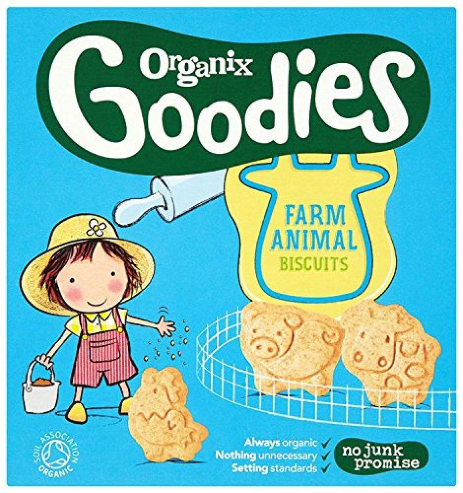 Organix Goodies From 12 Months Organic Animal Biscuits 100 g