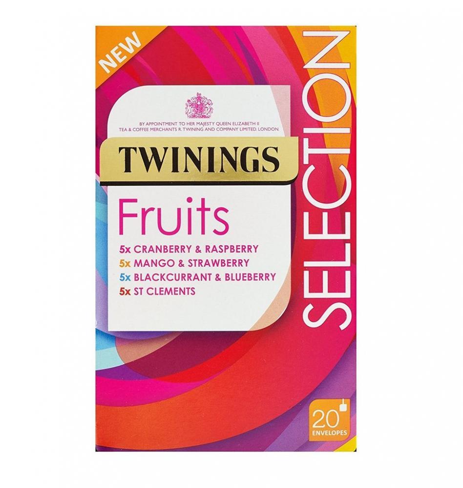 Twinings Selection Pack Fruit Tea 20 Bags