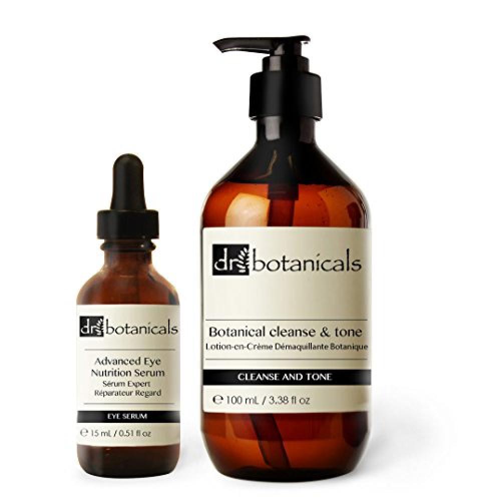 Dr Botanicals Cleanse and Tone Eye Nutrition Serum 100ml15ml