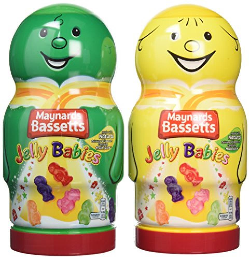 Maynards Bassetts Jelly Baby Jar 495g