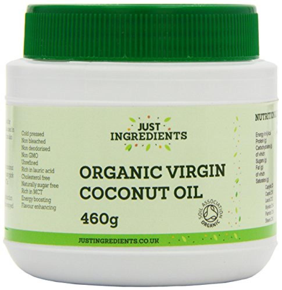 JustIngredients Essential Organic Virgin Coconut Oil 460 g