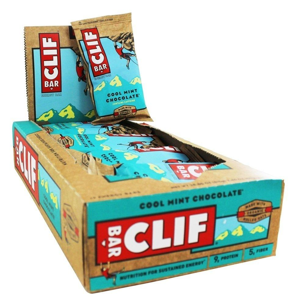CASE PRICE  Clif Bar Cool Mint Chocolate 68g x 12