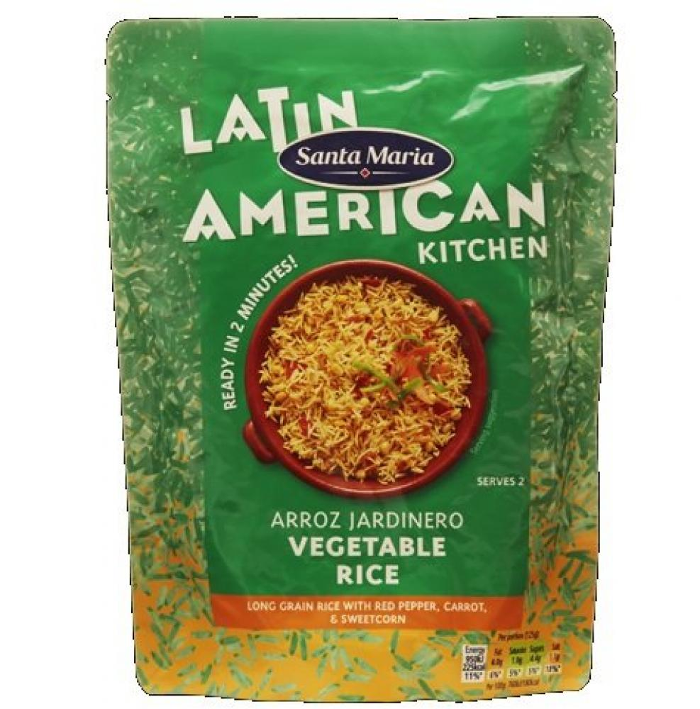 Santa Maria Arroz Jardinero Vegetable Rice 250g