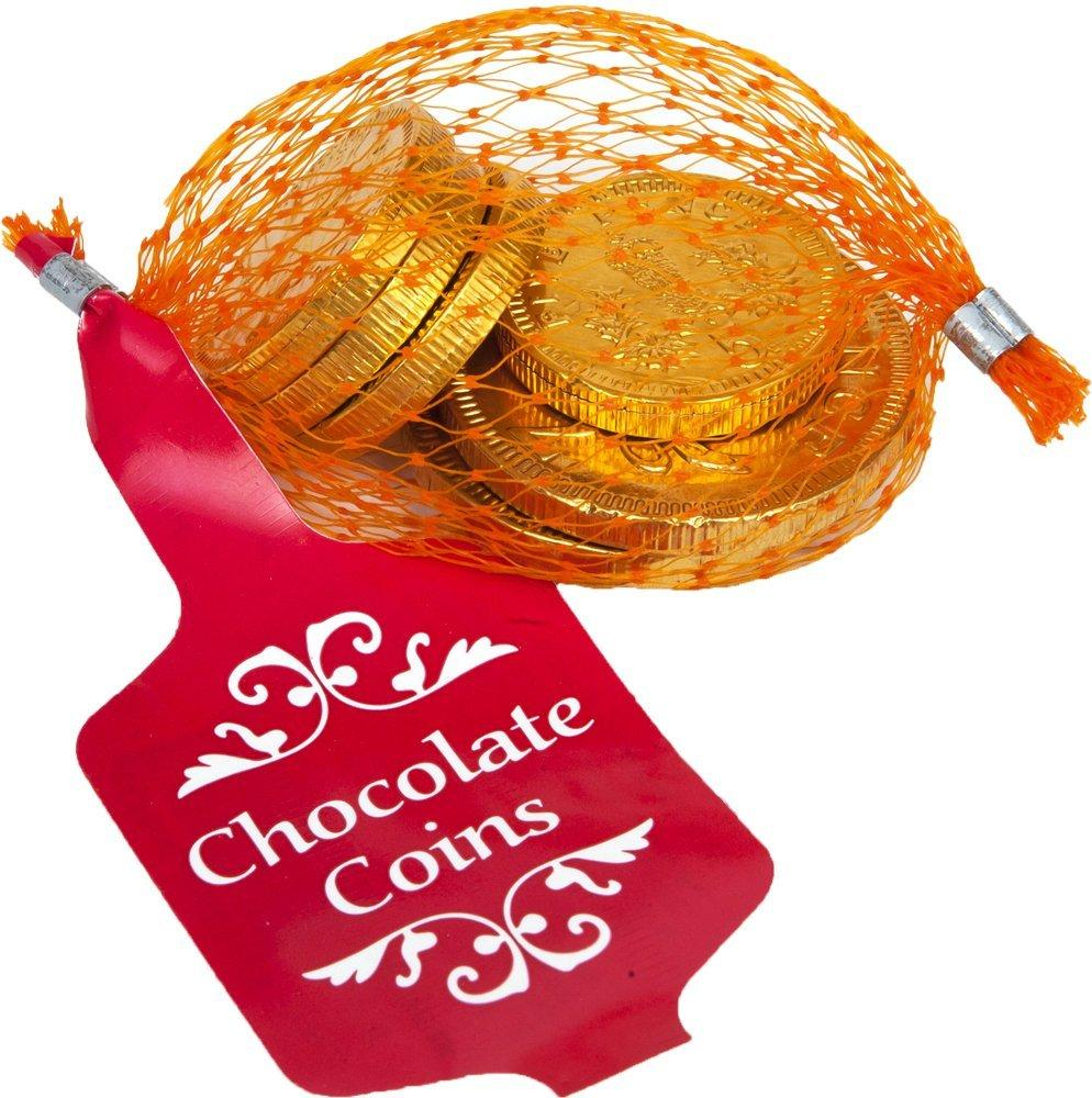 Creme dOr Milk Chocolate Coins in Net 25g