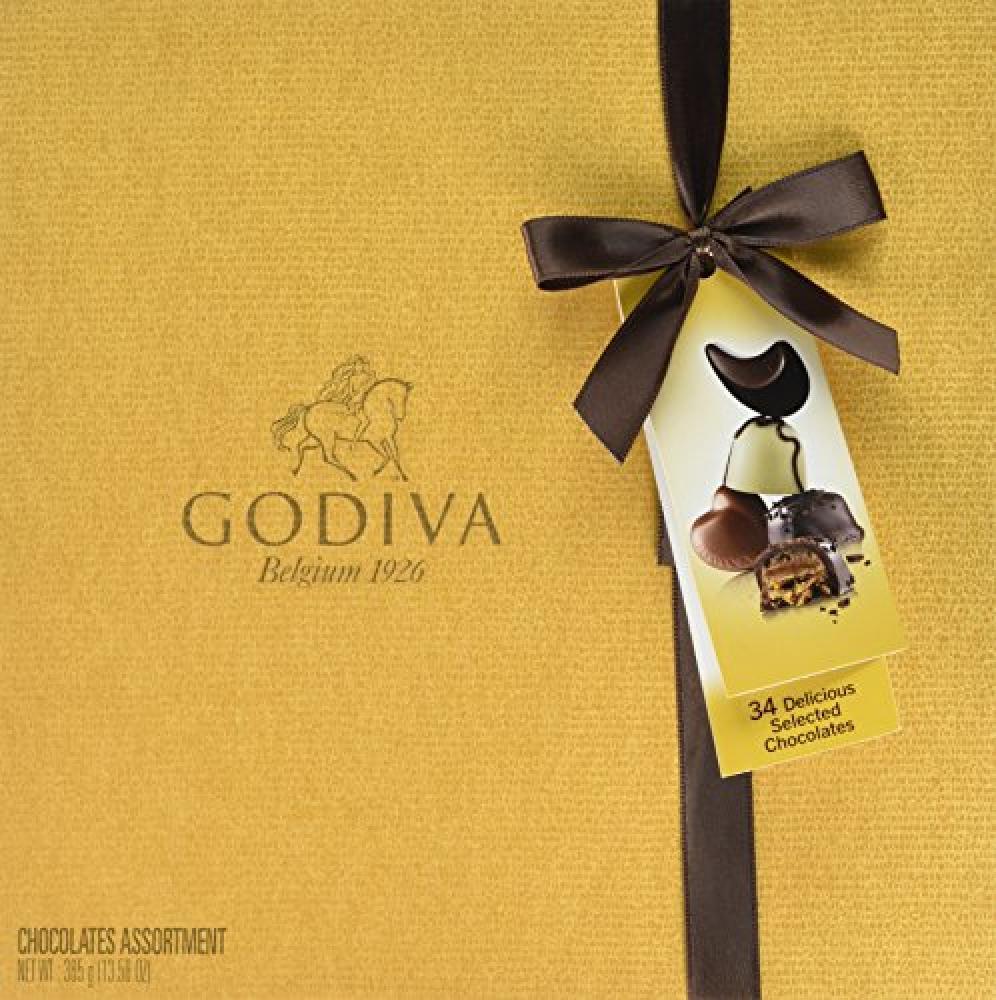 Godiva Gold Box 34 pieces