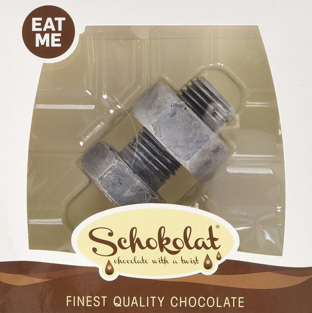 Schokolat Chocolate Nut and Bolt 97g