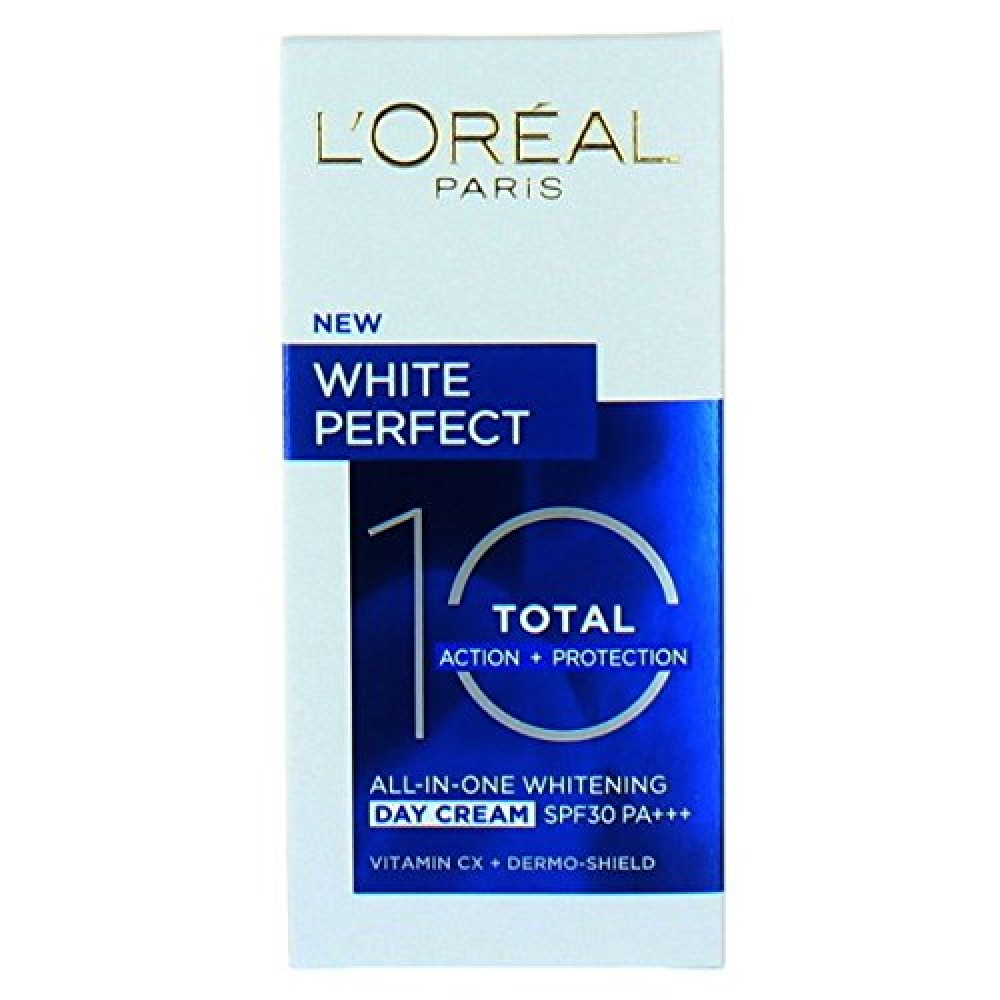 LOreal White Perfect Total 10 All-In-One SPF 30 Whitening Day Cream 50 ml