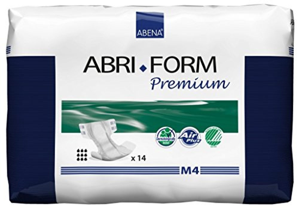 Abena Abri-Form Premium M4 70-110cm hipwaist size All-In-One 3600ml