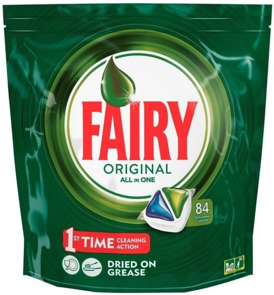 Fairy Original All-in-One Dishwasher Tablets 84 Pack